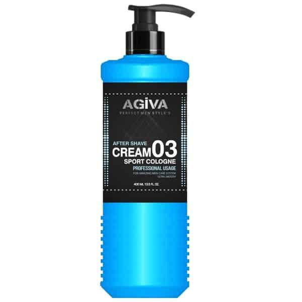 After shave cremă Agiva After Cream Cologne 03 Sport 400 ml_1